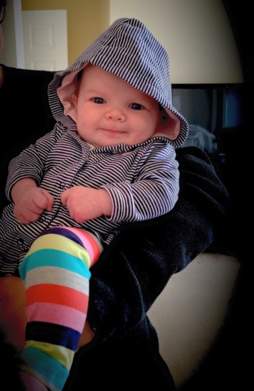My granddaughter, Tenley Grace Bert
